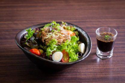 Mixed Green Salad with Tuna