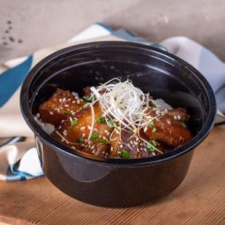 Grilled Pork Belly Miso Don