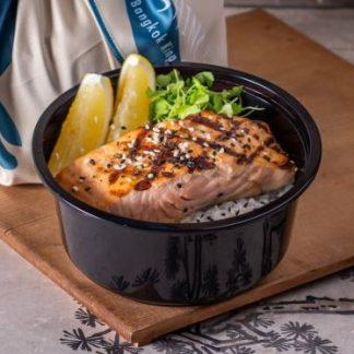 Grilled Salmon Salt Don