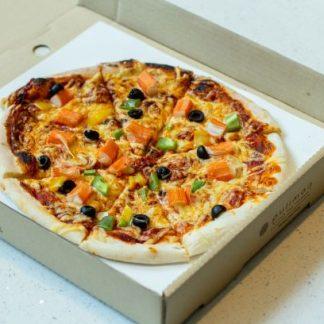 Crab Stick Pizza